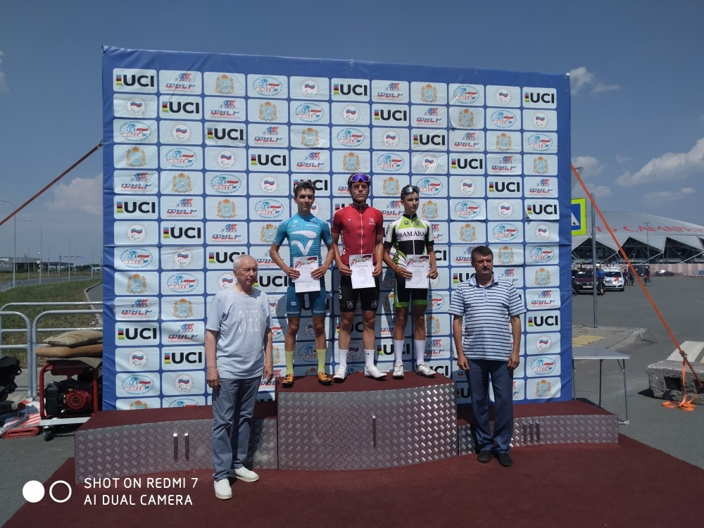 Велосипедист Андрей Романов завоевал два «золота»