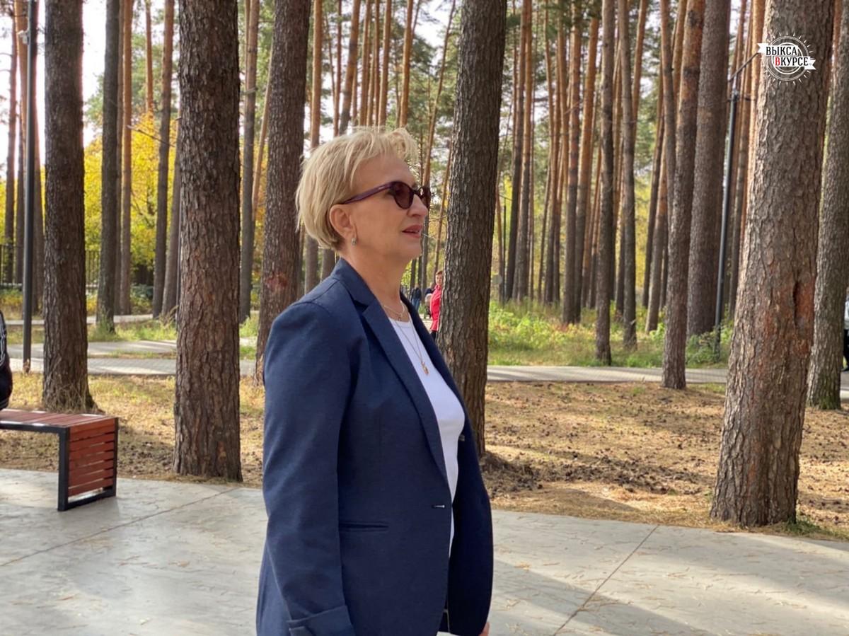 Депутат Госдумы Наталья Назарова побывала в Выксе