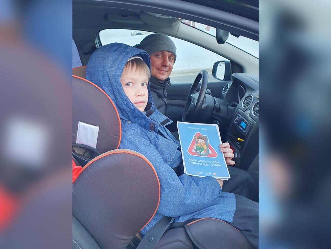 Четверо водителей пренебрегли безопасностью детей