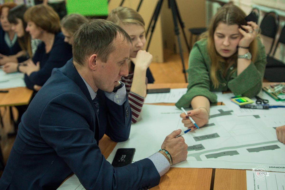 В Выксе обсудили благоустройство сквера на улице Пирогова