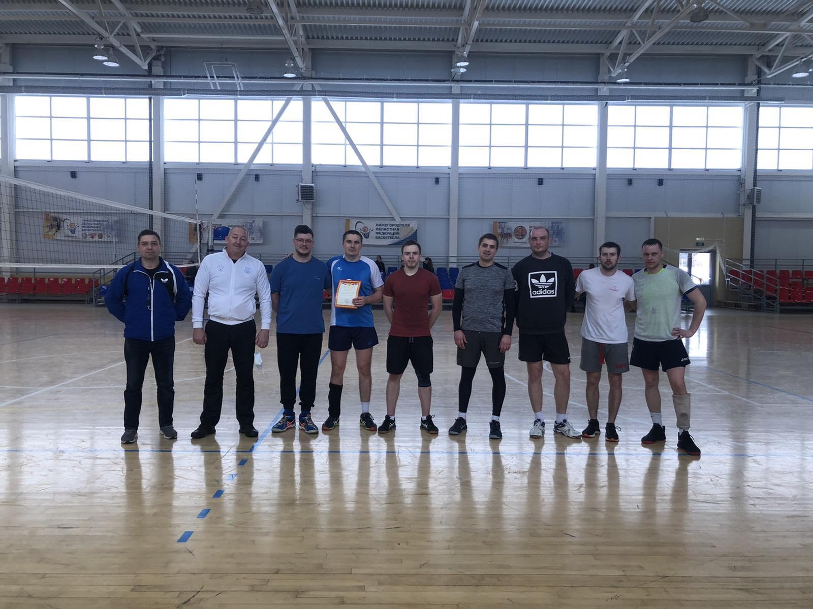 Волейболисты «Металлурга» стали первыми