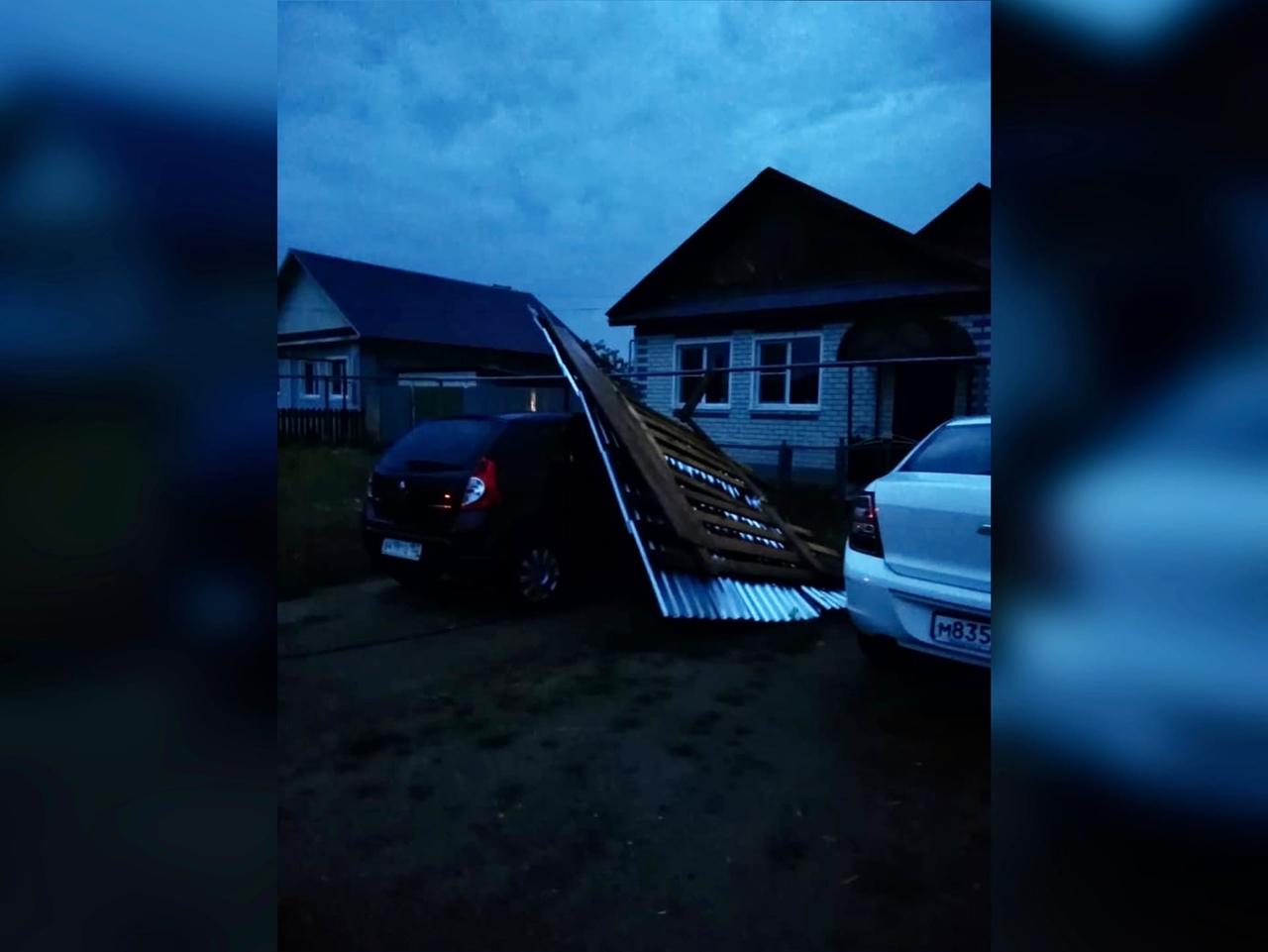 На Выксу обрушился ураган