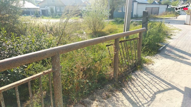 Пешеходный мост стал зоной повышенной опасности