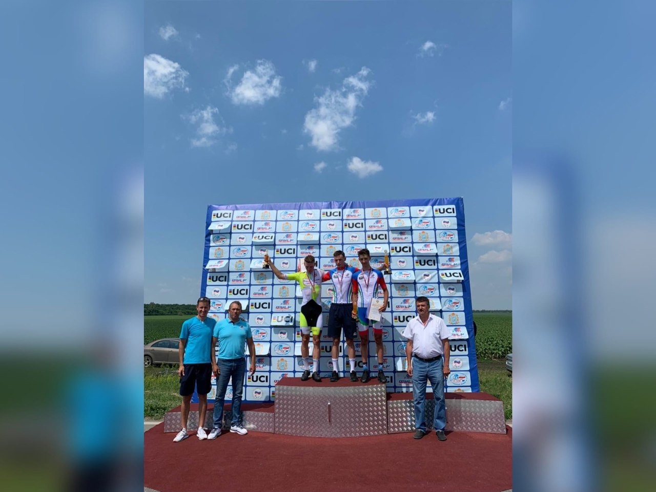 Велосипедист Андрей Степанов достойно выступил на Первенстве