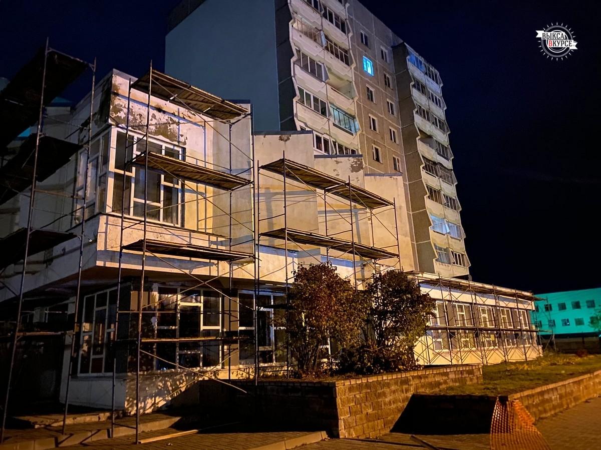 Начался ремонт Центральной библиотеки