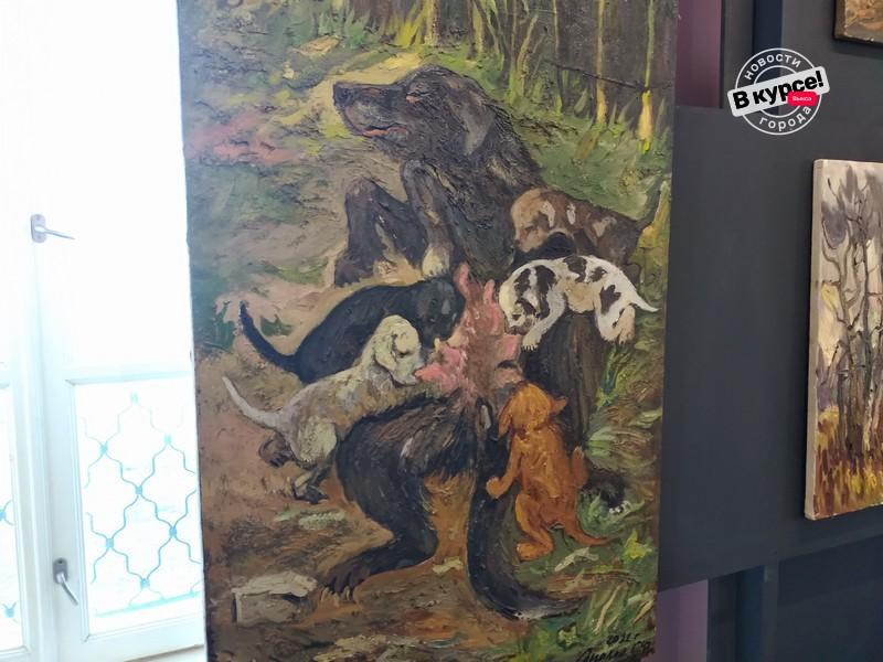 Выставка «На краю природы: черный лес» нашими глазами