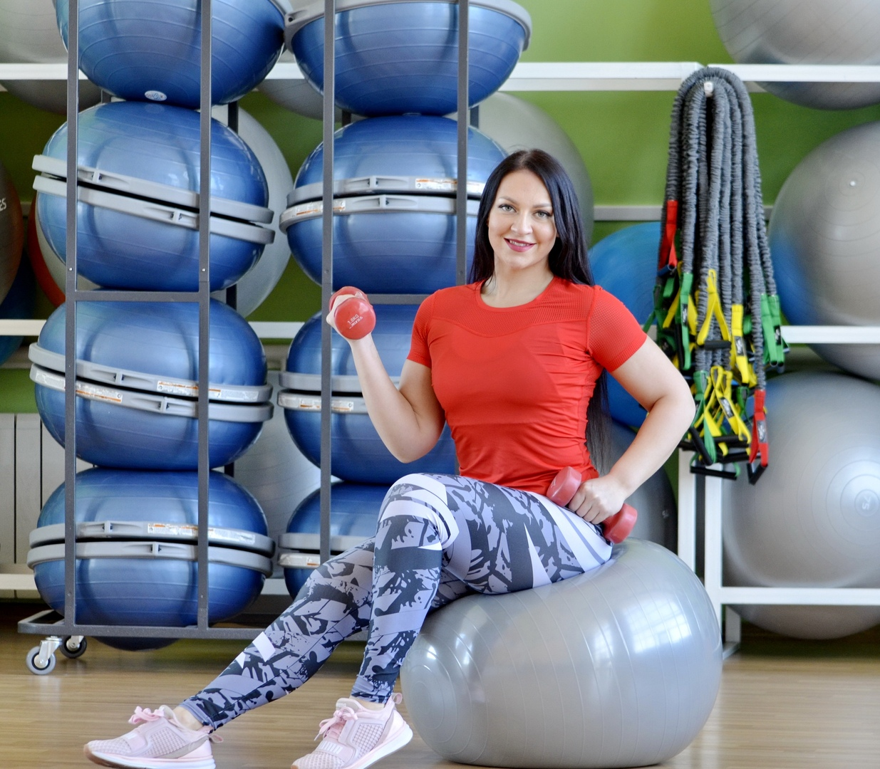 Девушка дня: инструктор персональных, групповых и водных программ — Екатерина Мазунина!