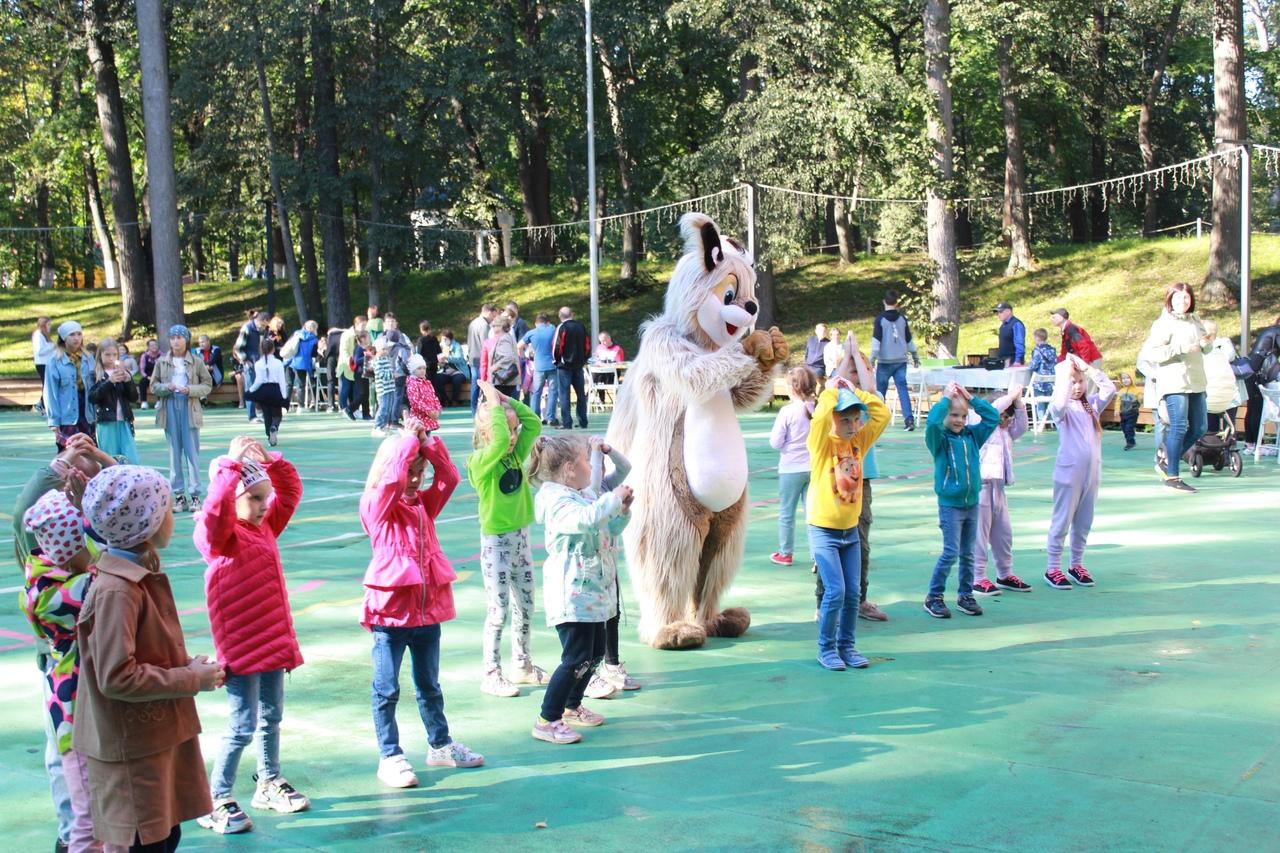 В парке прошел «Фестиваль весёлых наук»