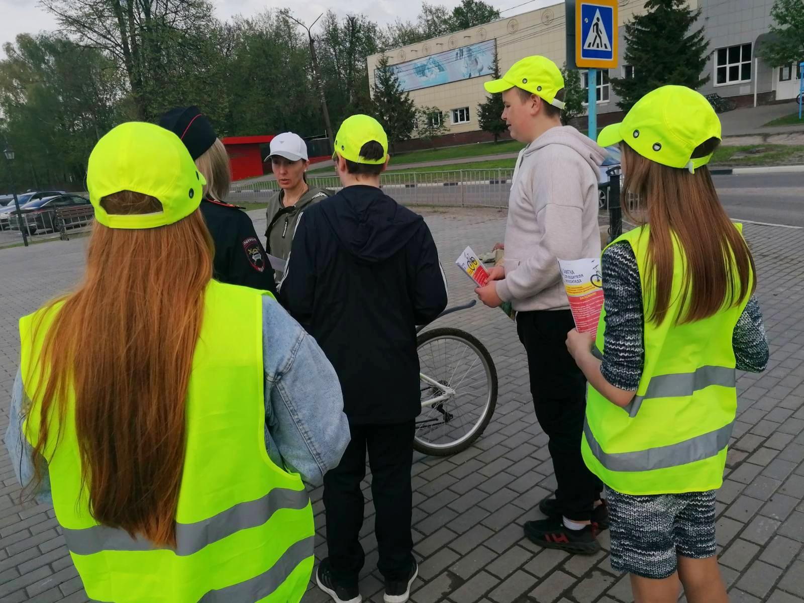 В ГИБДД напомнили о безопасном вождении велосипеда