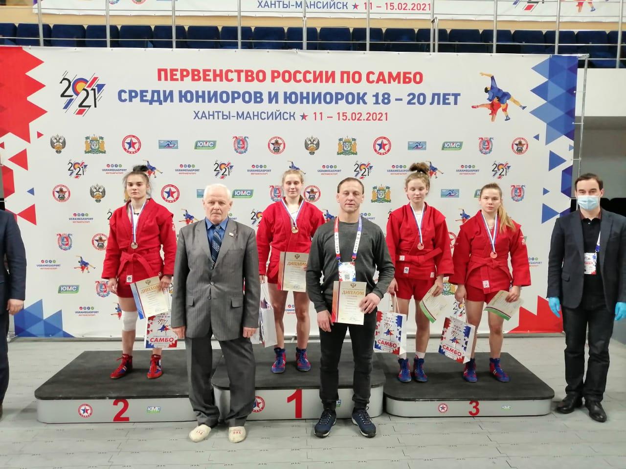 Выксунки победили на первенстве России по самбо