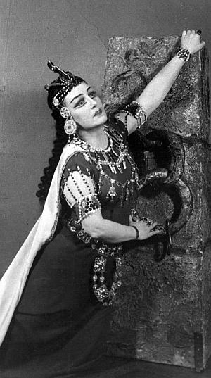 Давыдова Вера Александровна меццо-сопрано 1906–1993 . Большой театр.  Золотые голоса
