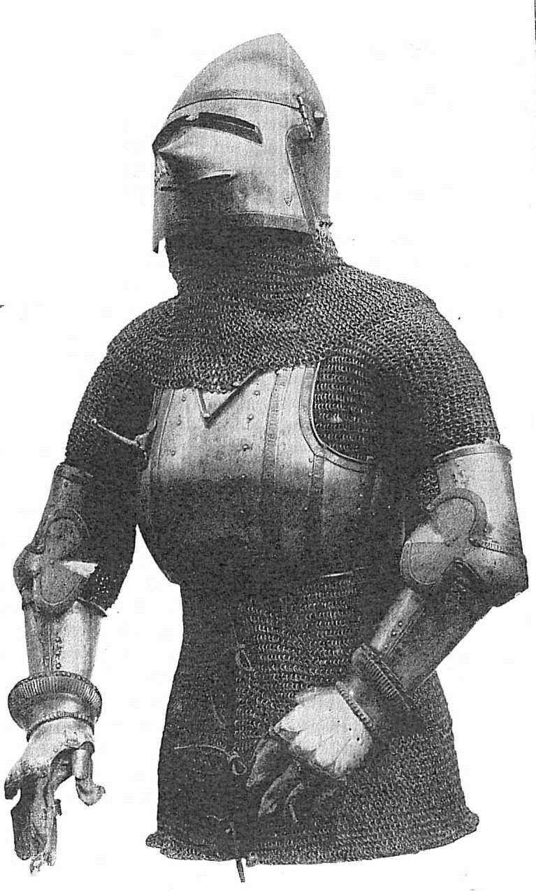 ???? 15 Armour (composite) of a Vogt of Matsch. North Italian, c. 1390.  Churburg. ????????? ??????? ??????