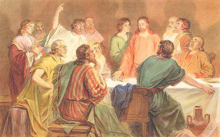 Тайная вечеря. Библейские предания. Новый завет