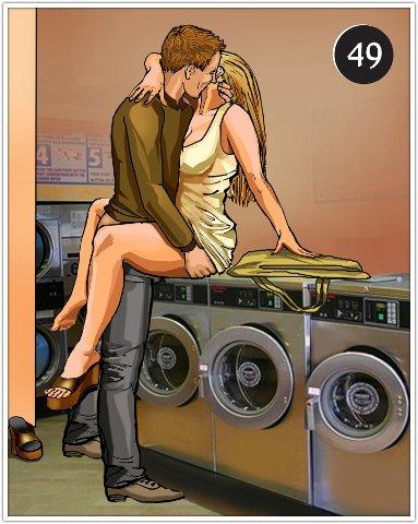 Секс На Стиральной Машине