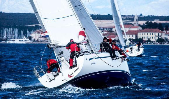 Морская практика: Настройка парусной яхты в гонке