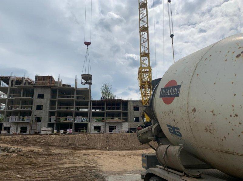 Изображение №595 - Заливка бетона для многоэтажного дома