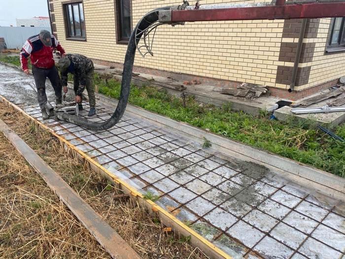 Изображение №729 - Заливка фундамента для тротуара