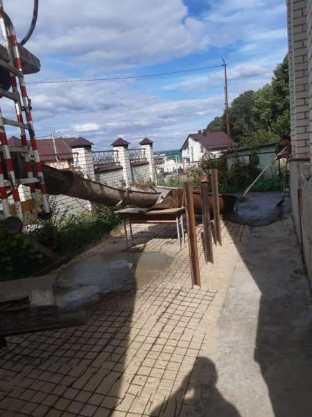 Изображение №185 - Заливка территории у дома бетоном