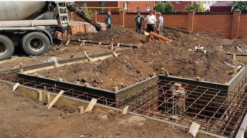 Изображение №205 - Заливка фундамента дома