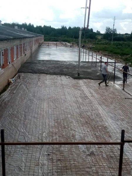 Изображение №209 - Заливка преддомовой территории в г. Ярославль