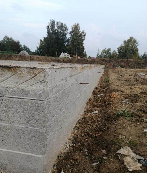Изображение №291 - Заливка ленточного фундамента под дом 135м2
