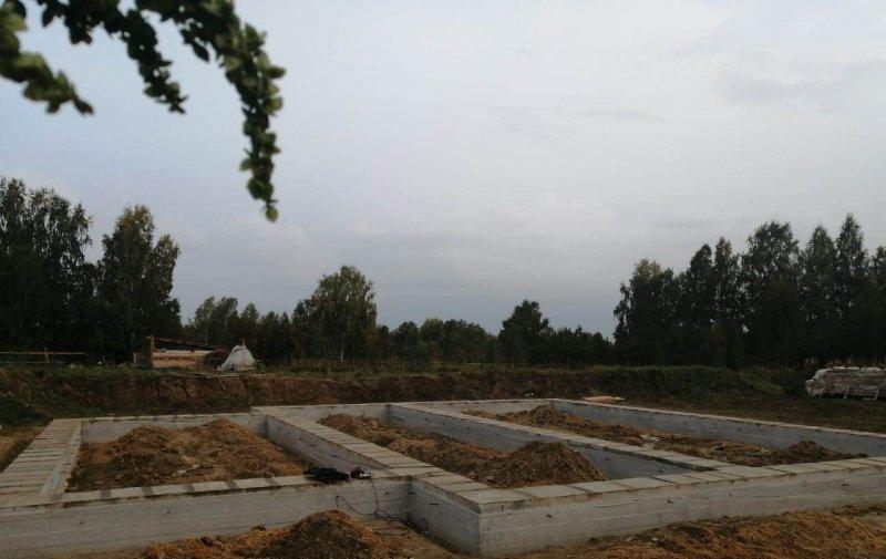 Изображение №292 - Заливка ленточного фундамента под дом 135м2
