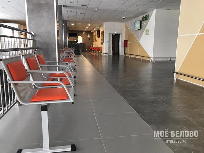 Новый автовокзал в Белово, март 2021
