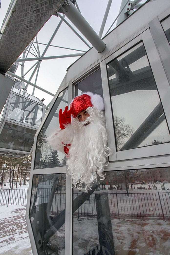 Финал конкурса «Лучший Дед Мороз Кузбасса 2020» в Белово, 19 декабря 2020 г