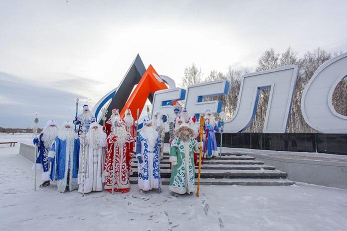 Финал конкурса «Лучший Дед Мороз Кузбасса 2020» вБелово, 19декабря 2020г