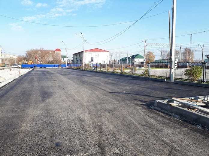 Строительство автовокзала в Белово